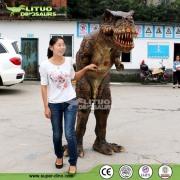 Amusement Park High Quality Mascot Dinosaur Costume Suit