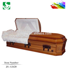 JS-A1620 wholesale best price cherry casket