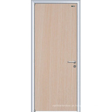 Interior da porta do aço inoxidável, porta de aço inoxidável da grade, portas de aço interiores, tipos de portas do banheiro