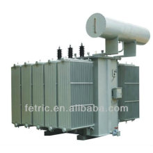 Three phase oil immersed power distribution 66kv transformer