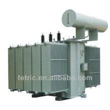 Three phase oil immersed power distribution 66kv transformer