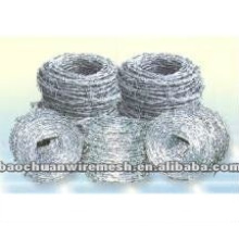 B.W.G.12*14 barbed wire fence with high quality and competitive price