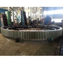 De Bonne Qualité Pignon d'anneau en acier de bâti d'OEM pour le broyeur à boulets fabriqué en Chine