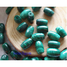 Natural Malachite Rice Beads