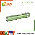 Fabrik Bulk bunte Werbe-Aluminium billig kleine 1w Mini-LED Taschenlampe für Kinder