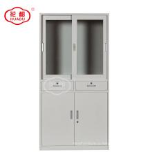 Фабрика сразу продавая лаборатории стали стеклянная дверь образец подачи переключатель стальном ящике шкафа шкафа