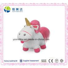 Плюшевая игрушечная игрушечная игрушка с плюшевым единорогом