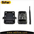 Outdoor battery powered 3G network iOS &Android APP control mms wildlife camera