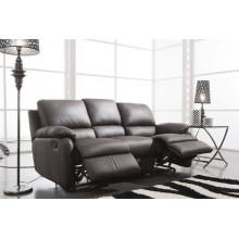 Sofá elétrico reclinável EUA L & P sofá do mecanismo para baixo do sofá (654 #)