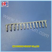 Kundenspezifische Metall-Messing-Anschlussklemme Elektrische Steckklemmen (HS-DZ-0088)