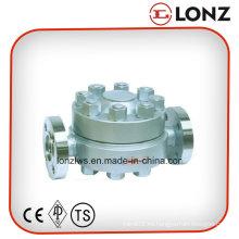 Trampa de vapor tipo disco con brida para alta temperatura y alta presión