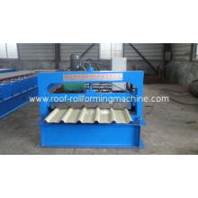 Trapezoidal Roof Panel Roll Forming Machine With 18 Roller