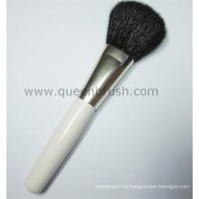 Popular profesional de la marca privada Kabuki polvo cosmético cepillo