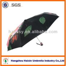 21 '' 8k flor impressão chique guarda-chuvas de Bali 2018 guarda-chuva de dobramento de moda