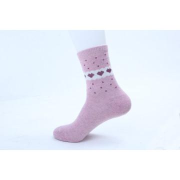 Chaussettes d'hiver pour femme Angora (WA005)