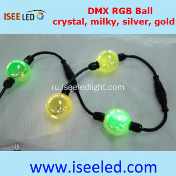 Gold Housing DMX LED Sphere Light Night Club