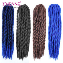 Synthetic Hair Crochet Hair Extensions