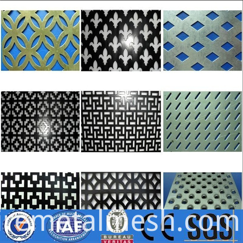 trade assurance perforated metal mesh