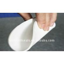 Folha de PTFE expandida de alta qualidade, folha macia de PTFE