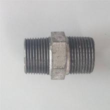 fundición de accesorios de tubería de hierro maleable Plain Nipple