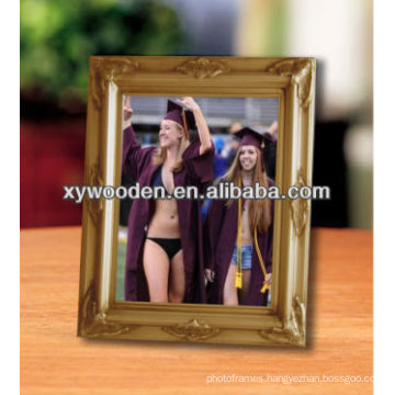 11x14 Gold wooden picture photo frame