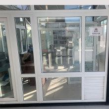 Portes intérieures en chêne Fenêtre Maille Écran Portes en verre coulissantes Intérieur