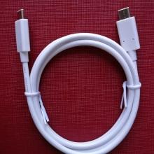 Le câble de données USB3.1 type C contient Cypress E-MARK IC L: 970mm pour MacBook