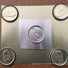 Bobine en aluminium revêtue de qualité alimentaire pour Eoe Easy Can Cover Lids