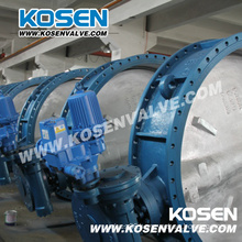 Electric Operation Flanged Butterfly Valves (D943)