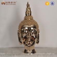 Home Decor Harz Buddha Kopf Statue zum Verkauf