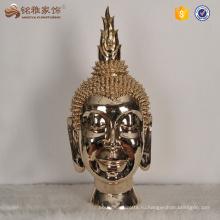 Домашнего декора смолаы голова статуи Будды для продажи