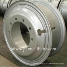 """Горячие продажи 22.5x8.25 """"Стальные колеса обода колеса, сделанные в Китае"""