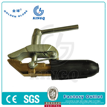 Full Brass British Type 600A Heavy Duty Earth Clamp