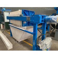Máquina de sistema de filtração de prensa de filtro