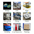 Custom hot chamber anodized cnc machining services aluminum/zinc alloy parts investment die casting for auto engine parts