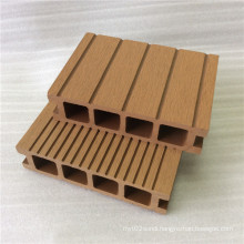 35mm Random Length Timber Composite Wood Factory WPC Hollow Grooved Floor