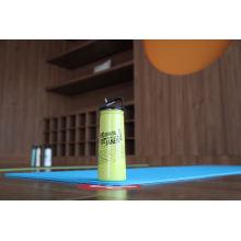 Garrafa de garrafa de água de esportes ao ar livre única parede de aço inoxidável Ssf-580