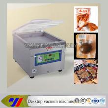 Máquina de embalaje de sellado por vacío de cámara simple de escritorio