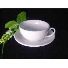 Большой фарфоровый кофейный стаканчик 350мл