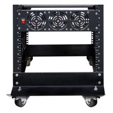 Anti-vibration sheet metal server cabinet