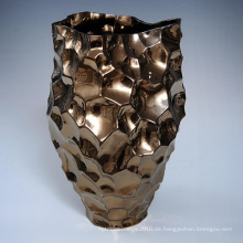 Großhandelsgewohnheit keramische Blumen-Urne für Gartenarbeit-Abziehbild (K0012)