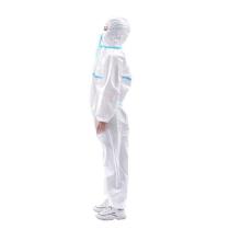 Микропористый нетканый материал для защиты ткани