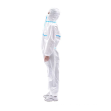 Tissu non tissé microporeux pour tissu de protection
