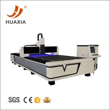 CNC fiber laser cut metal machine