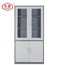 Фабрика сразу продавая тонкая линия 4 дверь стальная офиса стальной шкаф