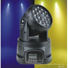 Luz principal movente do diodo emissor de luz do RGB