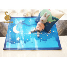 Personal Printed Cartoon Washable Non-woven Carpet