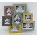 New Wooden Distressed Photo Frame in Multiple Opening