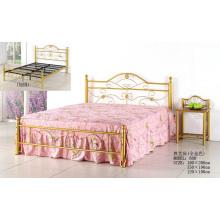 Золотая мода Популярные металлические картины кровать (608 #)