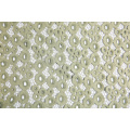 Elegant Elastic Plain Voile Eyelet lace fabric 150CM